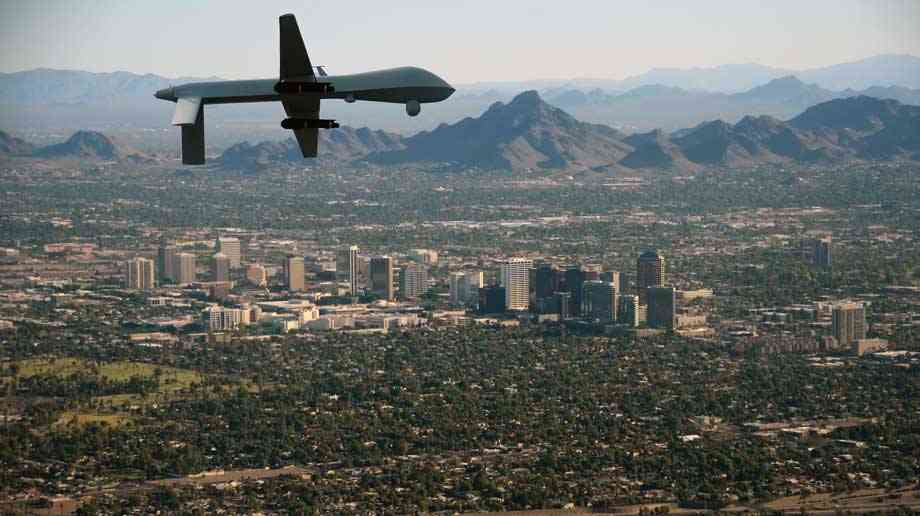 Are drones a tool for both sides in the race?